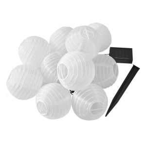 Guirlande lumineuse solaire polyester LYZY