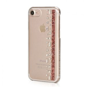 Coque iPhone 8 / iPhone 7 Hermitage Rose Gold avec cristaux de Swarovski - Bling My Thing