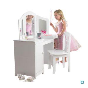 Coiffeuse et Chaise de Luxe - KID13018