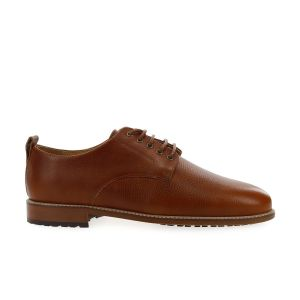 Derbies cuir pull-up grainé ALFRED