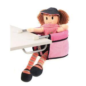 (Art. poupées) 735 46 Siège de table pour poupées.
