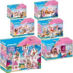 Lot de 6 articles PLAYMOBIL – Princess – 70447+70451+70452+70453+70454+70455