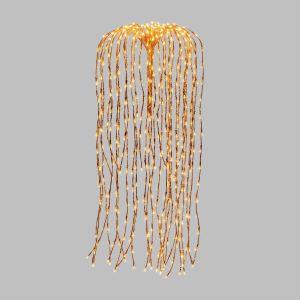 Branches lumineuses saule pleureur à suspendre - H. 120 cm