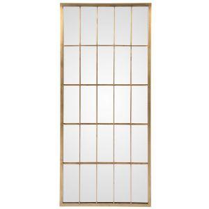 Miroir finition laiton BYRON