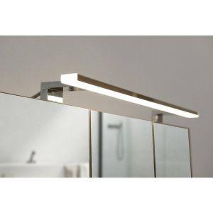 Spot LED Miroir - Chrome - 4 cm x 80 cm (HxL)