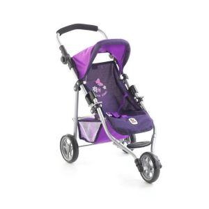 Petite poussette de jogging LOLA - Violet
