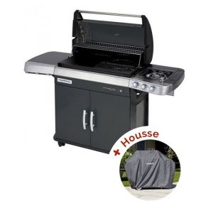 Pack Barbecue à gaz  4 Series RBS LS Vario + housse