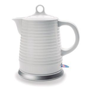 lacor - bouilloire sans fil 1.35l 1500w blanc - 69276