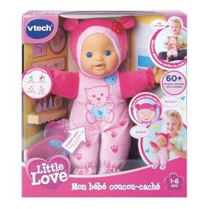 Litlle love - mon bebe coucou-cache rose