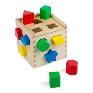 Cube de tri de formes