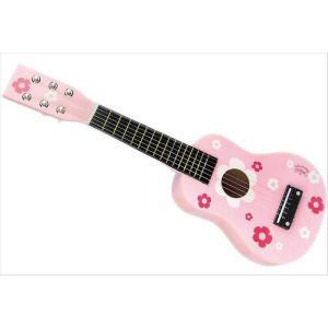 Guitare fleurs
