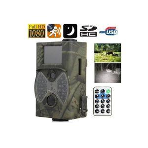 Caméra infrarouge Full HD 1080P chasse détecteur mouvement gibier Pile