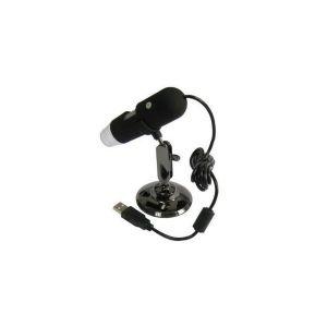 Mini microscope électronique zoom x200 USB portable 8 LED 1.3 MP