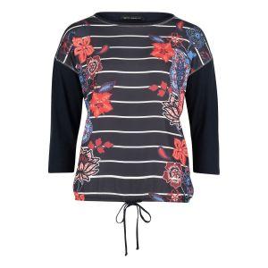 T-shirt façon blouse