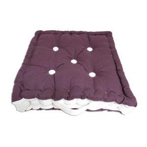 Coussin tapissier en coton Boudoir - 40 x 40 cm