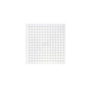 Plaque pour perles à repasser Hama Midi : Petite plaque carrée