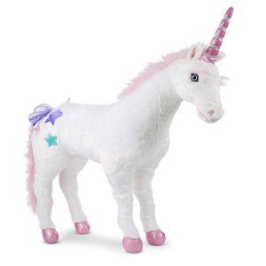 Peluche géante Licorne