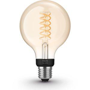 Ampoule connectée HW 9W Filament Globe E27 x1