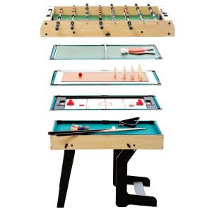 Table multi-jeux pliable 16 en 1