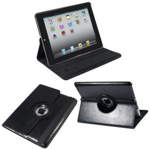 Housse cuir iPad 2 support 360° 9.7 pouces