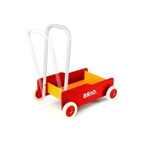 BRIO - 31350 - CHARIOT DE MARCHE - ROUGE & JAUNE - BRI31350007