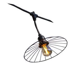 Guirlande lumineuse acier CHIC CAGE