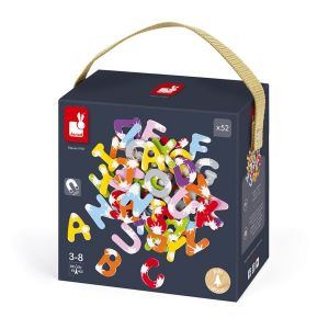 Malette 52 lettres magnétiques Splash (bois) - JURJ09612