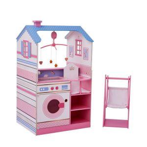 Maison de poupon nurserie poupée en bois Dream Land