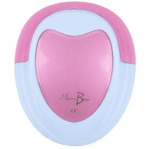 Doppler Foetal Monsieur Bébé Rose + Gel + Pile + Écouteur + Câble Audio Pour Pc