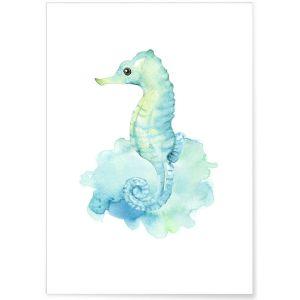 Affiche Enfant Hippocampe