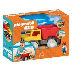 9142 Sand : Camion tombereau avec seau - Jouets