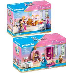 Lot de 2 articles PLAYMOBIL – Princess – 70451+70455