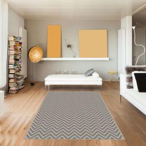 Tapis de Salon Moderne Design  VT CHEVRONLIN RELIEF 3D - viscose