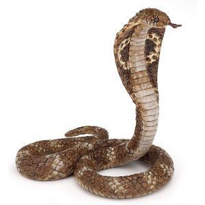 Figurine serpent : Cobra royal