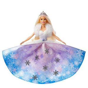 Barbie Dreamtopia poupée princesse Flocons