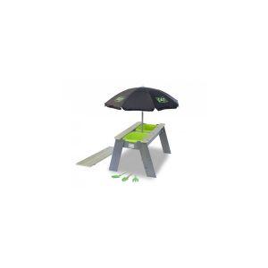 EXIT Aksent Table bac ? sable et ? eau L + Parasol + Outils de jardin