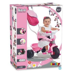 Tricycle Be Move Confort Rose - SMO740403