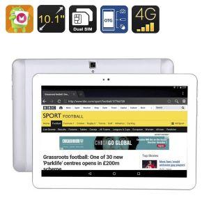 Tablette Multimédia Tactile 10' Android 6.0 32 Go 4g Octa Core 2go Ram