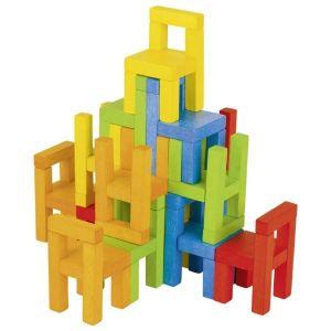 Les chaises, jeu de balancier
