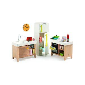 Accessoire maison de poupées : La cuisine