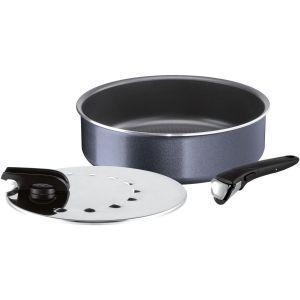 Sauteuse Ingenio elegance 26 cm + cv + pgnée