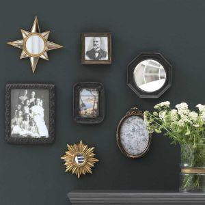 Set de cadres et miroirs baroques
