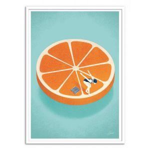 Poster d'art - Orange Aperol - Andrea de Santis