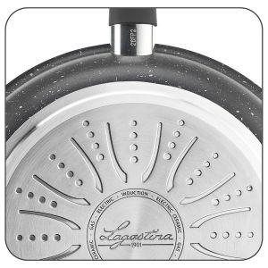 Sauteuse 26 cm avec couvercle série Lavinia