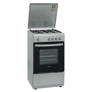 Cuisinière À Gaz Tfkcg504cms - Four Gaz - Nettoyage Manuel - 50l