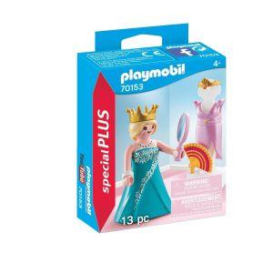 Princesse avec mannequin