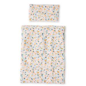 Couette + oreiller poupon en gaze de coton