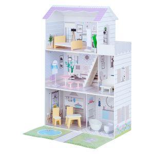 Maison de poupée avec accessoires en bois Olivia's Little World