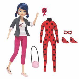 Poupée Miraculous et ses 2 tenues - 26 cm