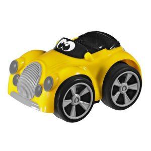 Voiture à friction : Turbo Touch Stunt (jaune)